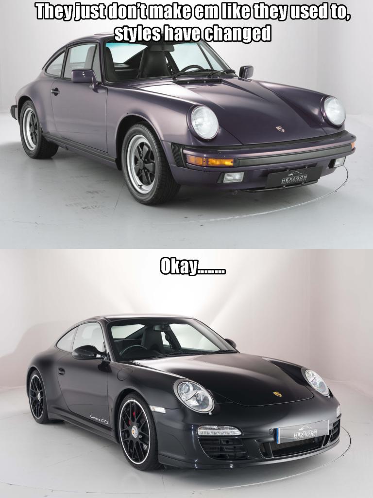 Porsche meme