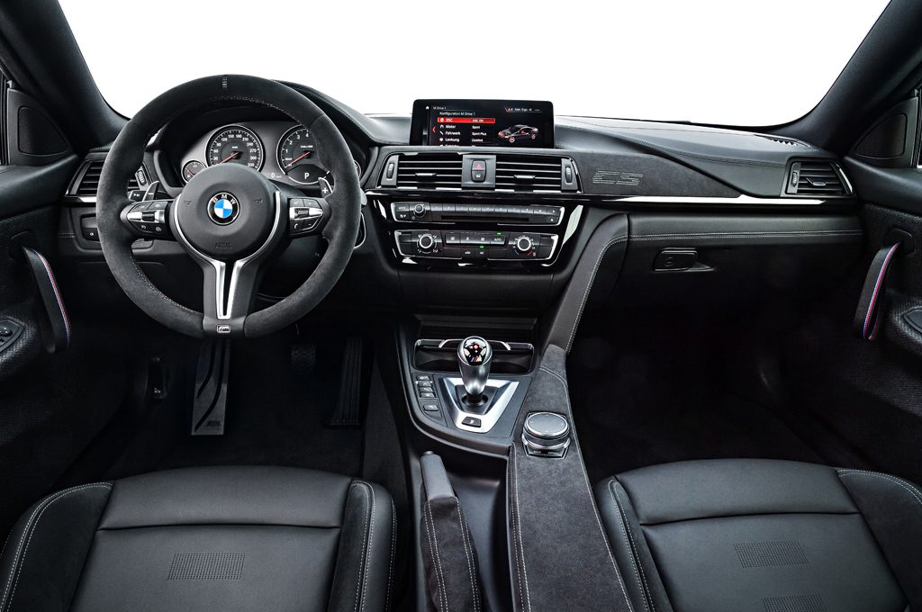 New M4 CS Interior