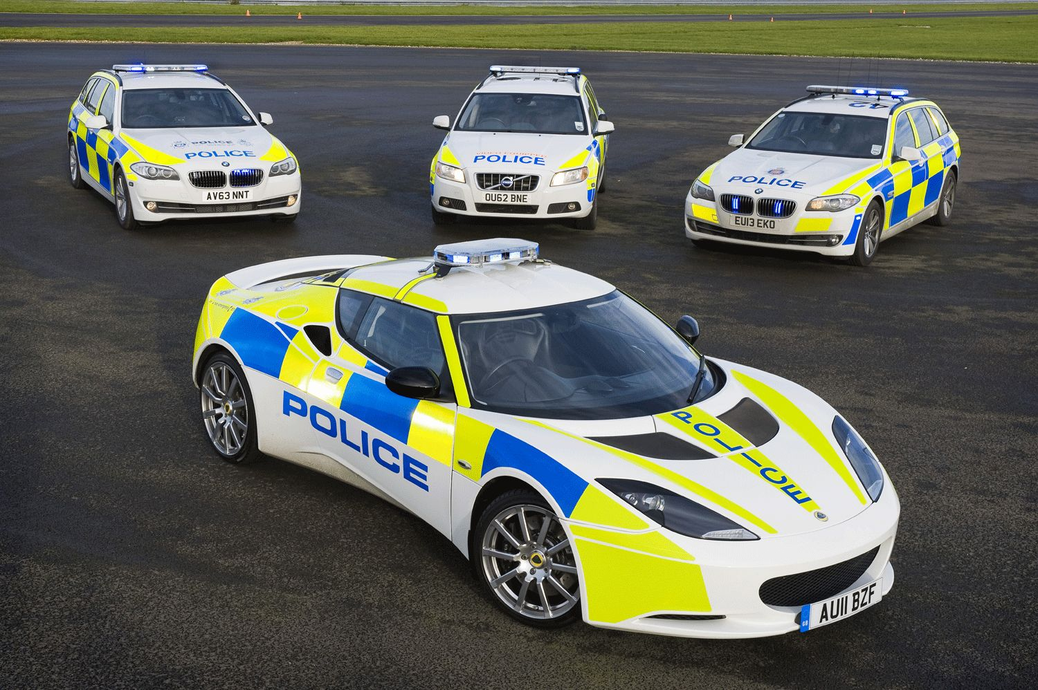 The best police cars in the world